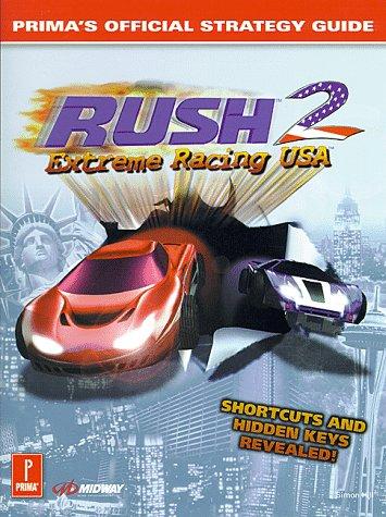 Rush 2 Extreme Racing USA Official Strategy Guide Book