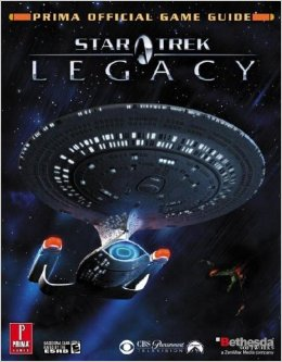 Star Trek Legacy Official Strategy Guide Book