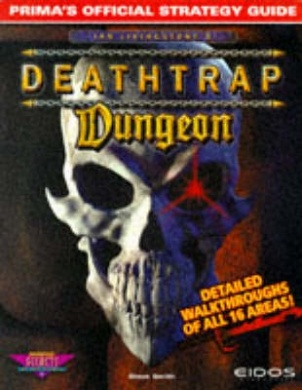 Deathtrap Dungeon Official Strategy Guide Book