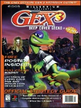Gex 3: Deep Cover Gecko Official Strategy Guide Book