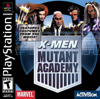 X-Men: Mutant Academy Official Strategy Guide Book