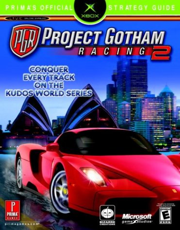 Project Gotham Racing 2 Official Strategy Guide Book