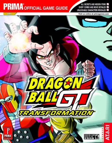 Dragon Ball GT: Transformation Official Strategy Guide Book