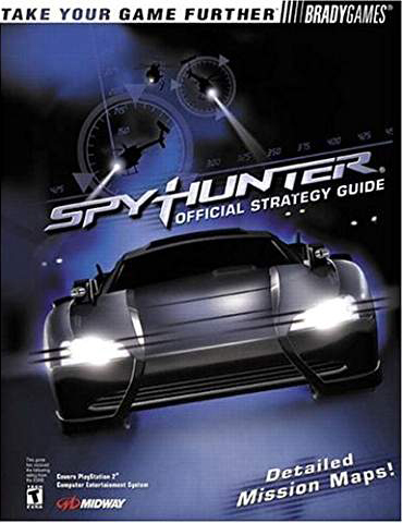 Spy Hunter Official Strategy Guide Book
