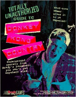 Donkey Kong Country Unauthorized Strategy Guide Book