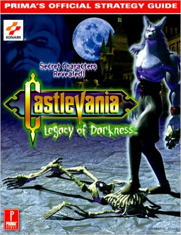 Castlevania: Legacy of Darkness Official Strategy Guide Book