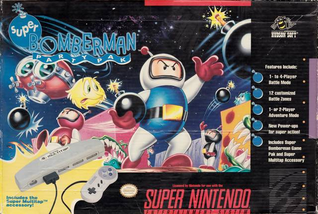 Super Bomberman Party Pack w/ MultiTap