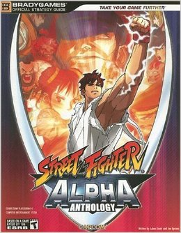 Street Fighter Alpha Anthology Official Strategy Guide