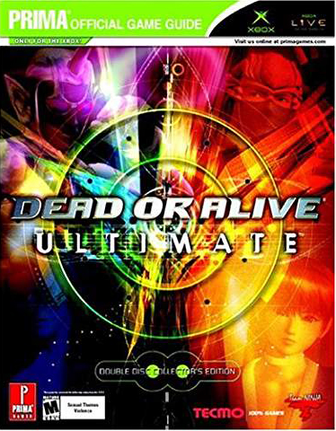 Dead or Alive: Ultimate Official Strategy Guide Book