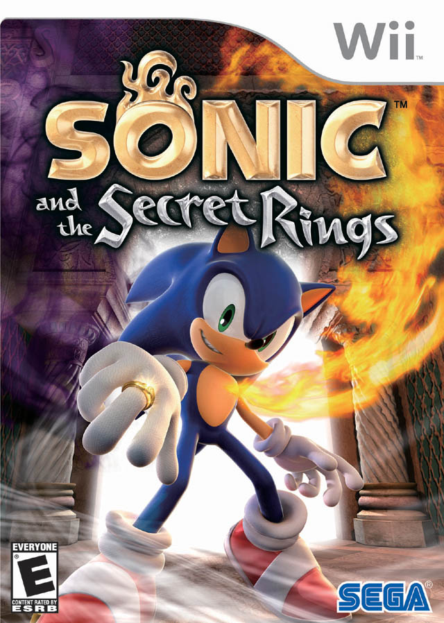 Sonic and the Secret Rings Official Strategy Guide Book