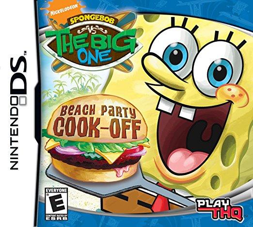 Spongebob vs the Big One: Beach Party Cook-Off