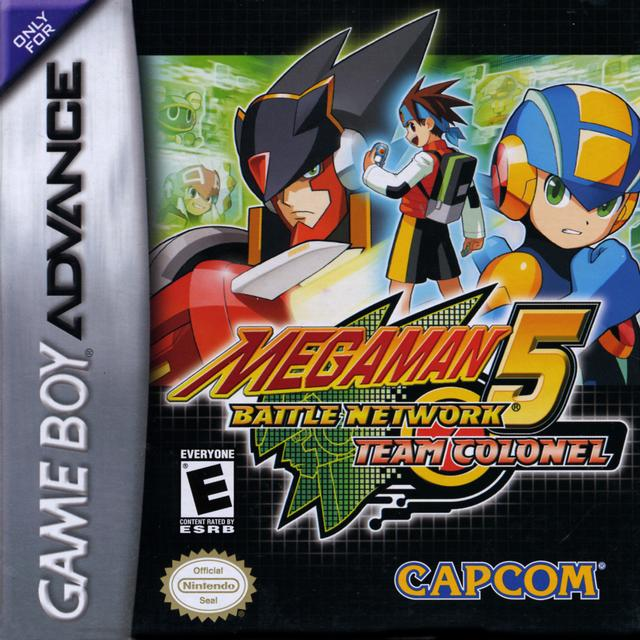 Mega Man Battle Network 5: Team Colonel/Team Protoman Official Strategy Guide Book