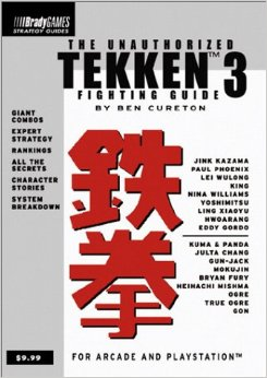 Tekken 3 Unauthorized Strategy Guide Book