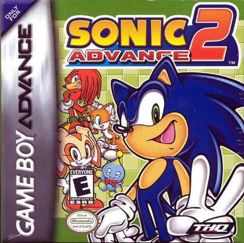 Sonic Advance 2 Official Strategy Guide Book