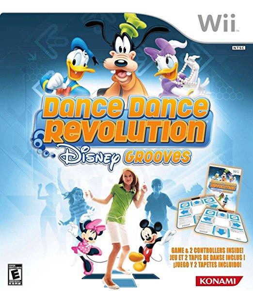 Dance Dance Revolution: Disney Grooves w/ Two Mats