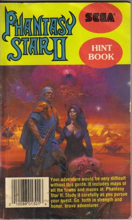 Phantasy Star II Hint Book
