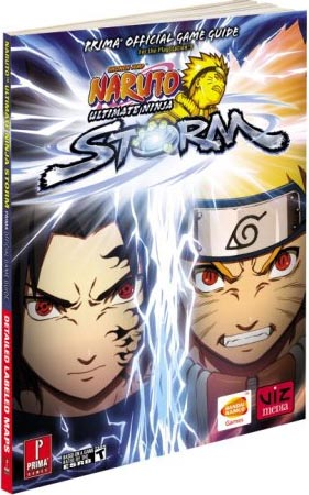 Naruto Ultimate Ninja Storm Official Game Guide