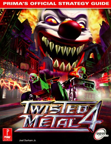Twisted Metal 4 Official Strategy Guide Book