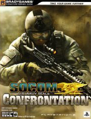 Socom: Confrontation Official Strategy Guide Book