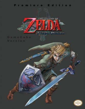 Legend of Zelda: Twilight Princess Official Strategy Guide Premiere Edition