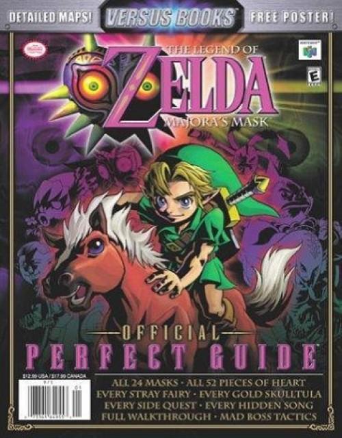 Legend of Zelda: Majora's Mask Official Perfect Guide