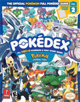 Pokemon Diamond & Pearl Official Pokedex Guide