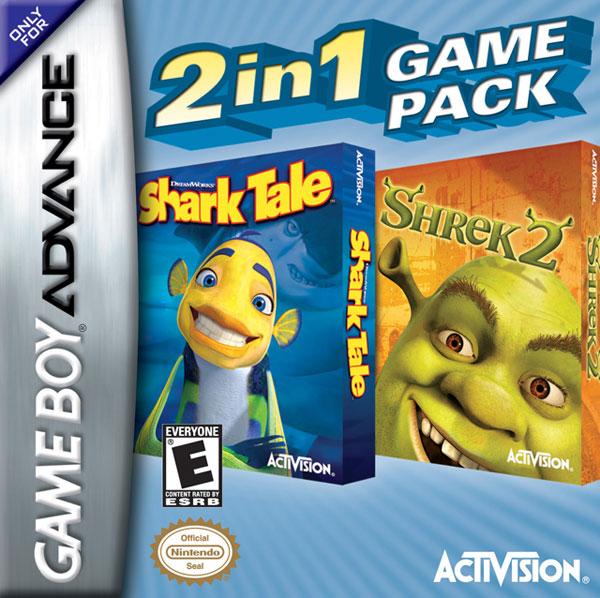 Shark Tale / Shrek 2: 2 in 1 Game Pack