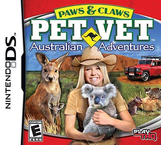 Paws & Claws Pet Vet Australian Adventure