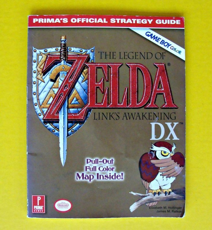 Legend of Zelda: Link's Awakening DX Official Strategy Guide by Prima