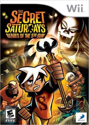 Secret Saturdays: Beasts Of The 5th Sun
