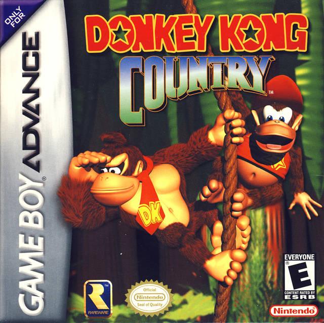 Donkey Kong e-Reader Cards