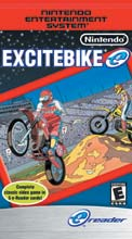 Excitebike e-Reader Cards
