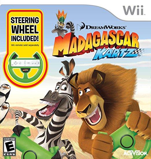 Madagascar Kartz with Wheel