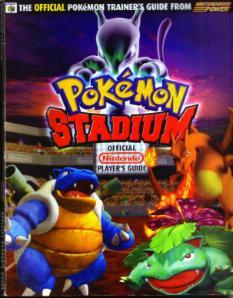Pokemon Stadium Nintendo Power Players Guide