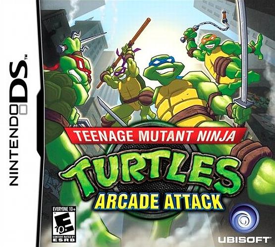 Teenage Mutant Ninja Turtles Arcade Attack