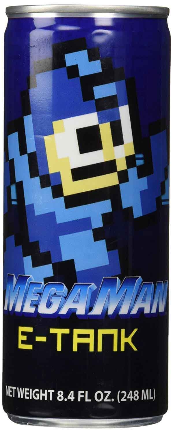 Mega Man E-Tank Energy Drink