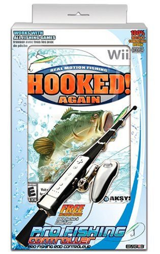 Hooked Again Bundle With Fishing Rod