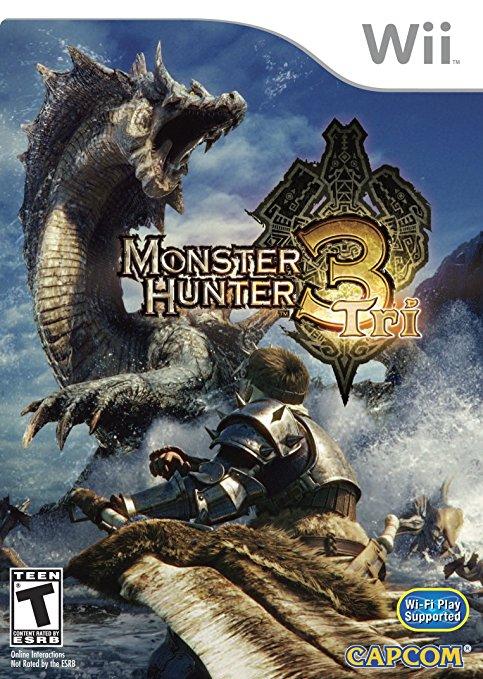 Monster Hunter Tri Game Only