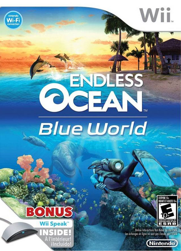 Endless Ocean: Blue World with Wii Speak