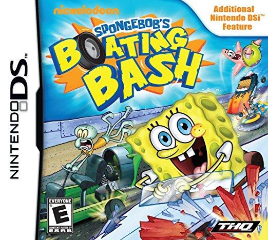 Spongebob Boating Bash