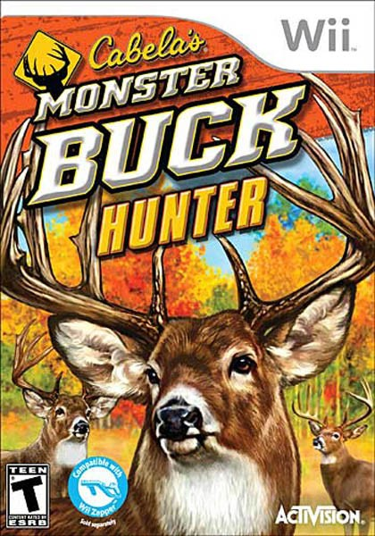 Cabela's Monster Buck Hunter with Gun Peripheral