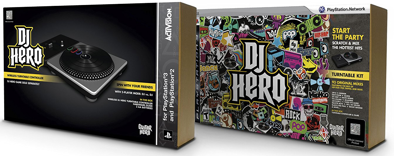 DJ Hero Double Pack