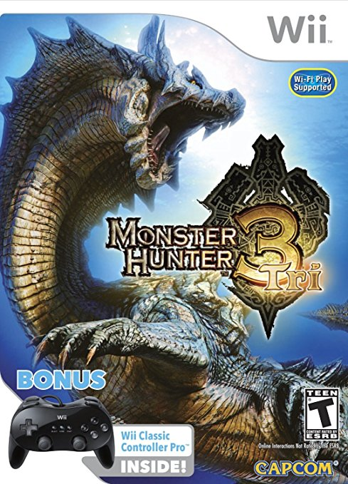 Monster Hunter Tri Bundle