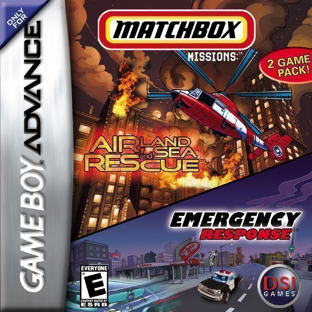 Matchbox Missions 2 Pack