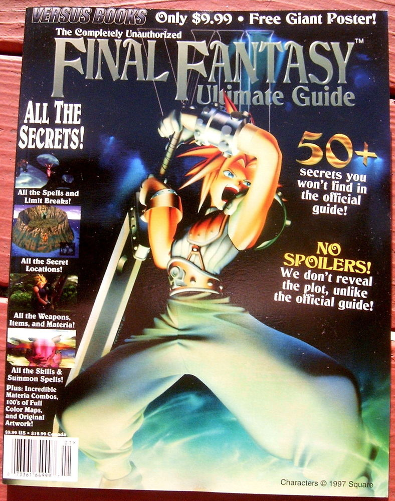 Final Fantasy VII Unauthorized Guide