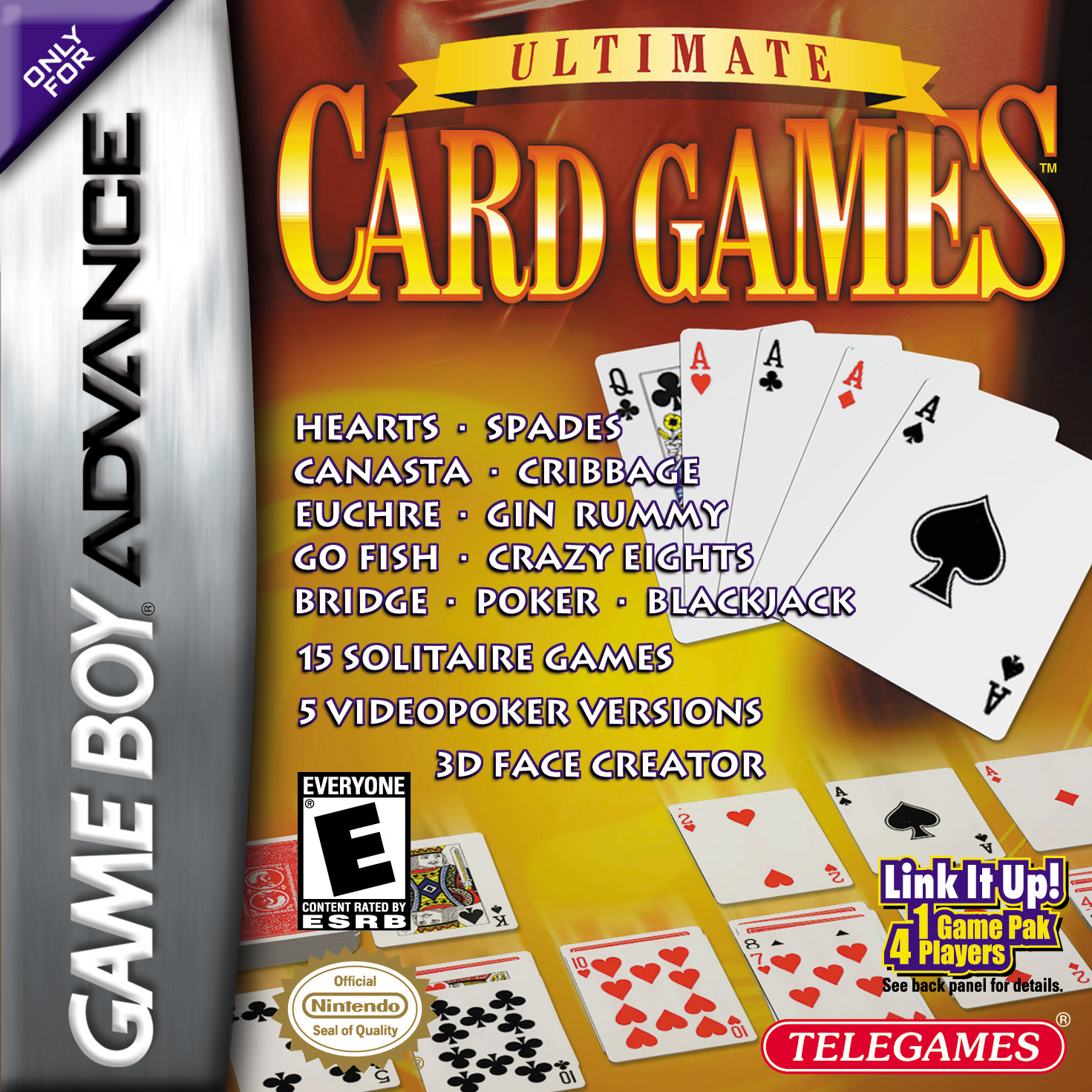 buy game boy advance ultimate card games estarland com