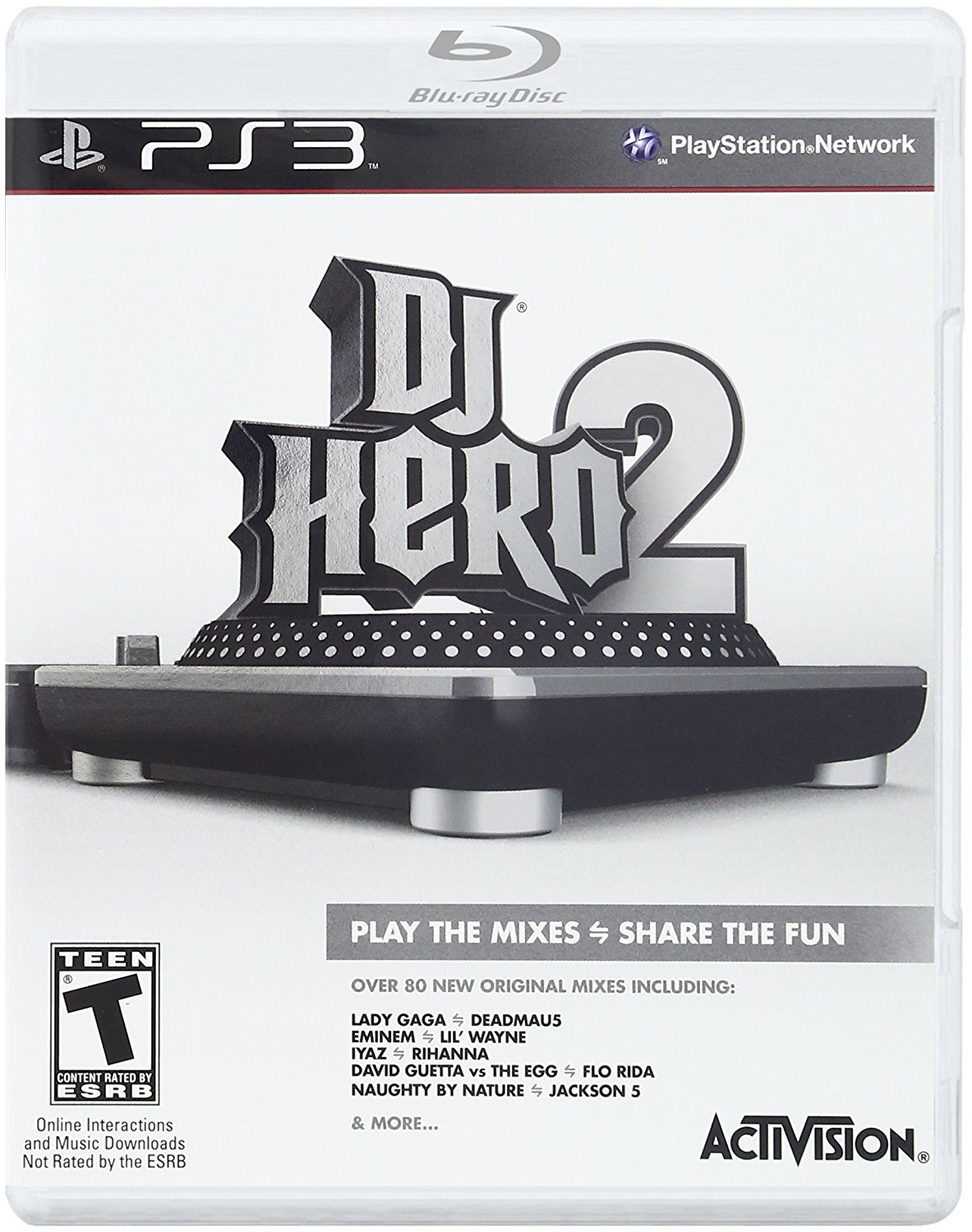 DJ Hero 2 Game Only