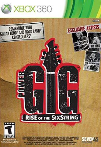 Power Gig: Rise of the SixString Game Only