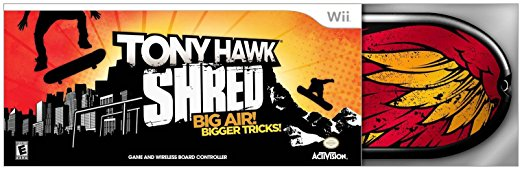 Tony Hawk Shred Bundle