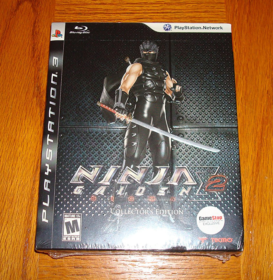 Buy Playstation 3 Ninja Gaiden Sigma 2 Collector S Edition